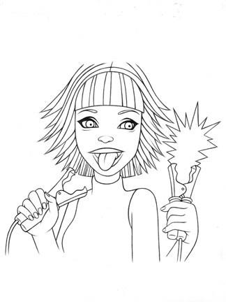 324x432 Tara Mcpherson Art Drawings Drawings Fanta Jump Leads Drawing
