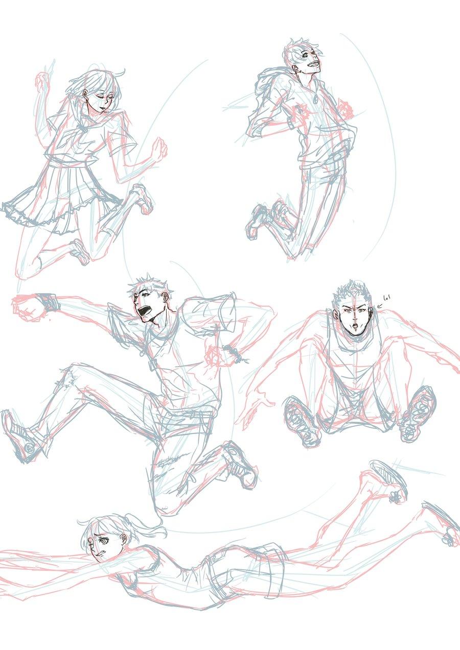 900x1273 Jumping Poses By Jump Kaizoku