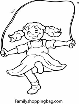 Jump Rope Drawing