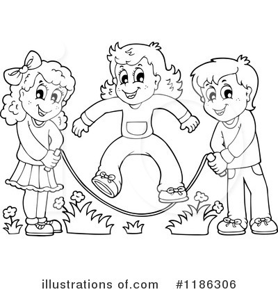 400x420 jump rope clipart