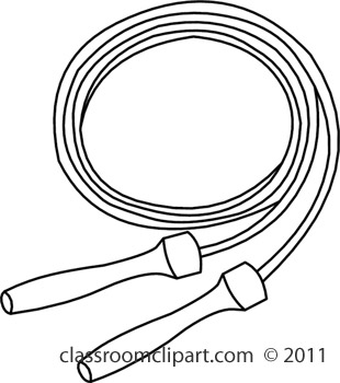 310x350 Jump Rope Clipart Black And White