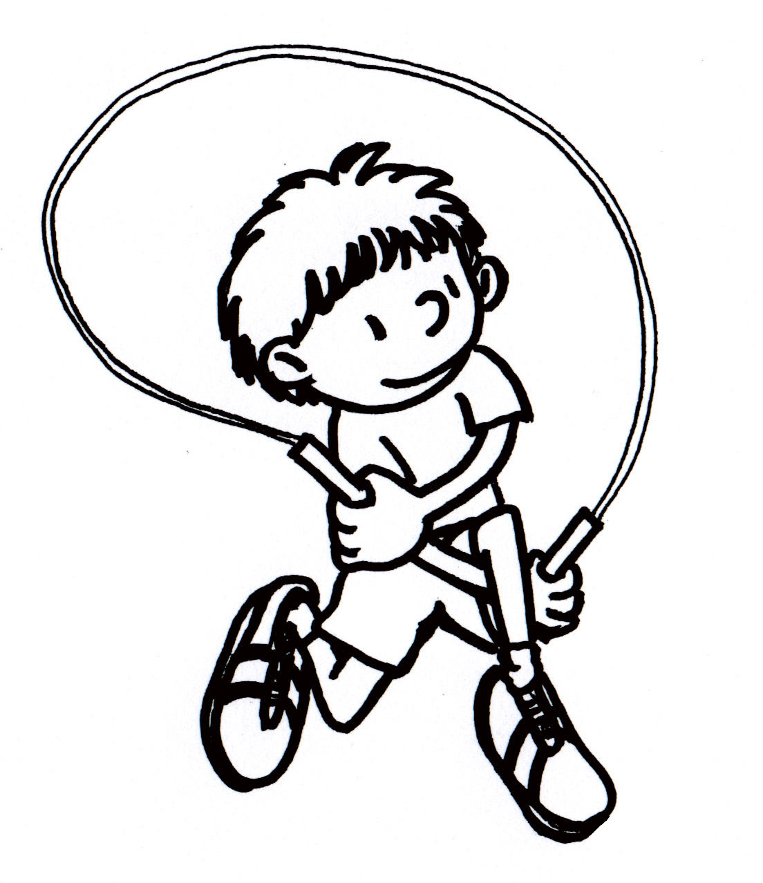 1104x1278 Jump Rope Color Page Jump Rope Coloring Page For Adults