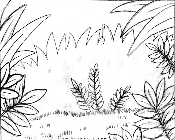 600x482 Coloring Book Jungle Background Jungle Background Coloring Pages