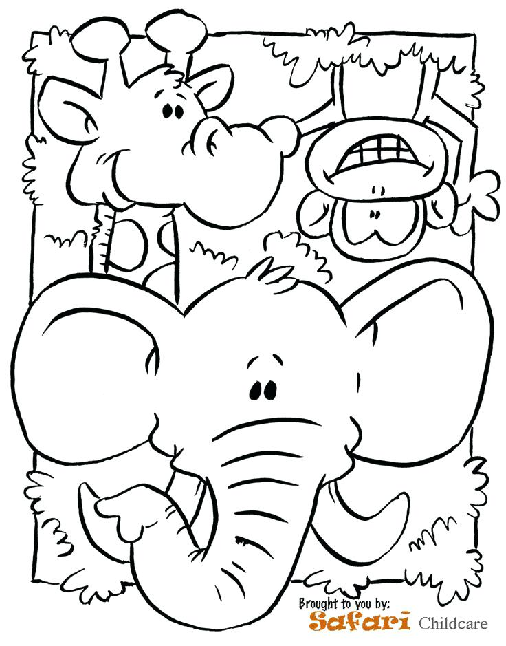 736x939 Jungle Coloring Page Leopard Jungle Colouring Pages Page 2 Best