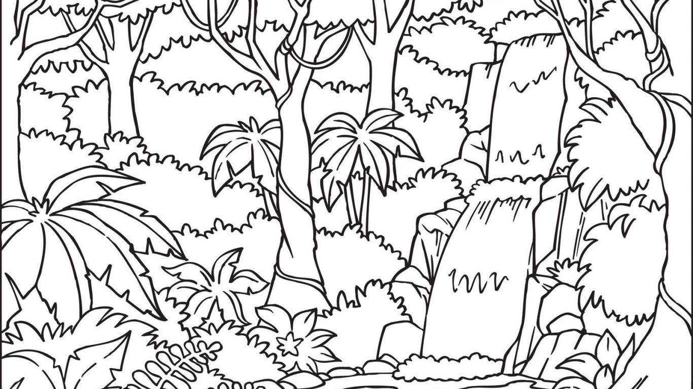 Jungle Leaves Drawing at GetDrawings.com | Free for personal use ...