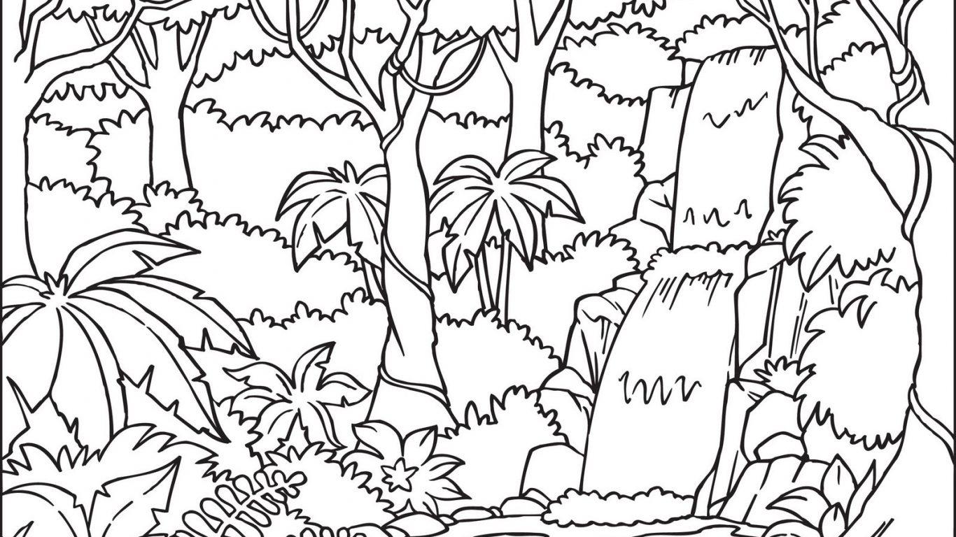 Jungle Leaves Drawing at GetDrawings | Free download