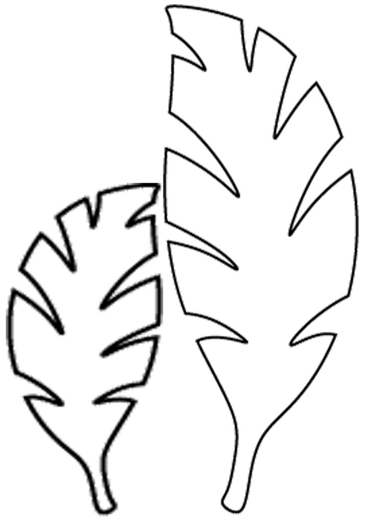 Jungle Leaves Drawing at GetDrawings   Free download
