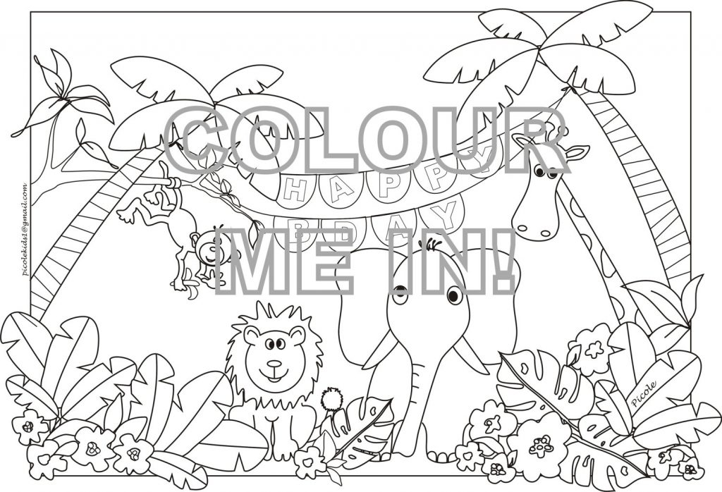 1024x698 To Print This Free Coloring Page Jungle Hard Beautiful Pages