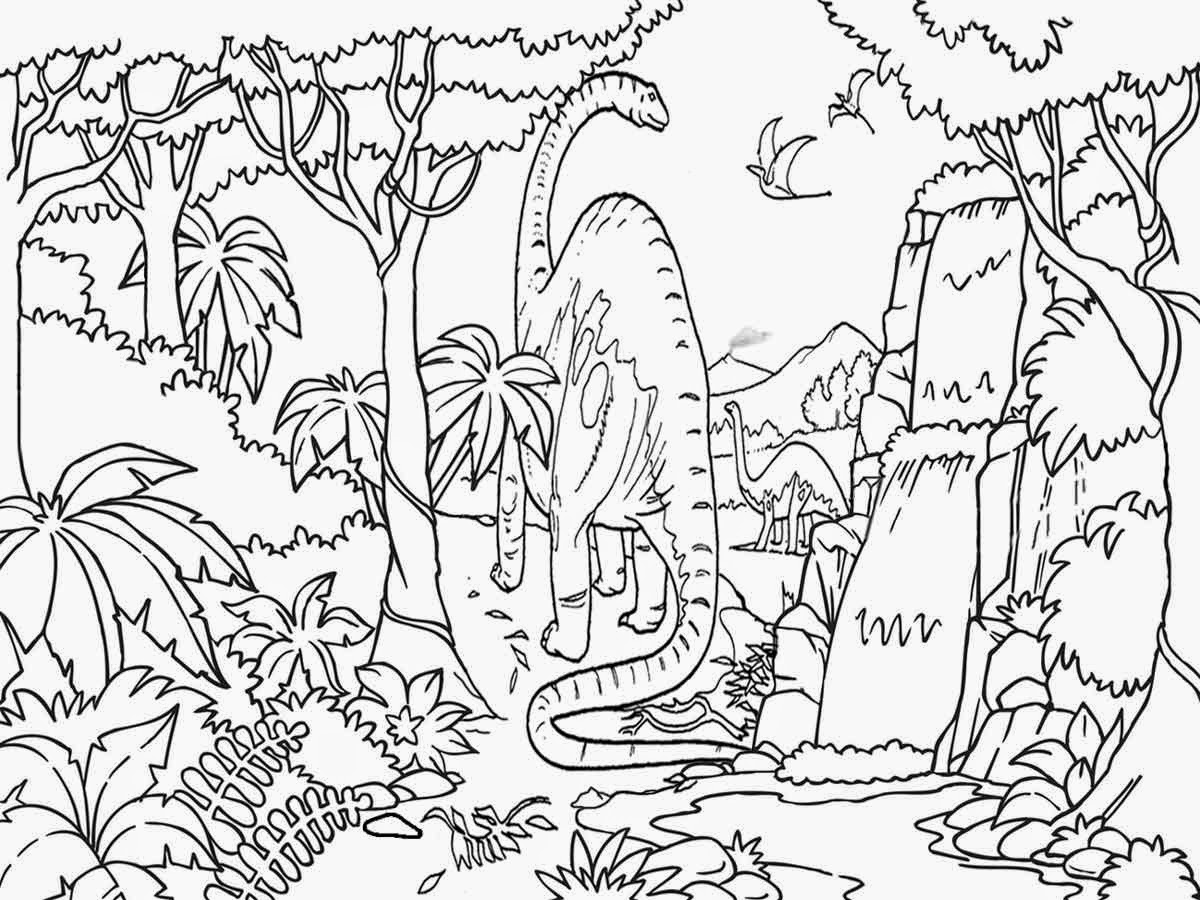 Jungle Scene Drawing at GetDrawingscom Free for personal use