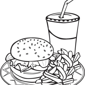 Junk Food Drawing At Getdrawings Com Free For Personal Use Junk