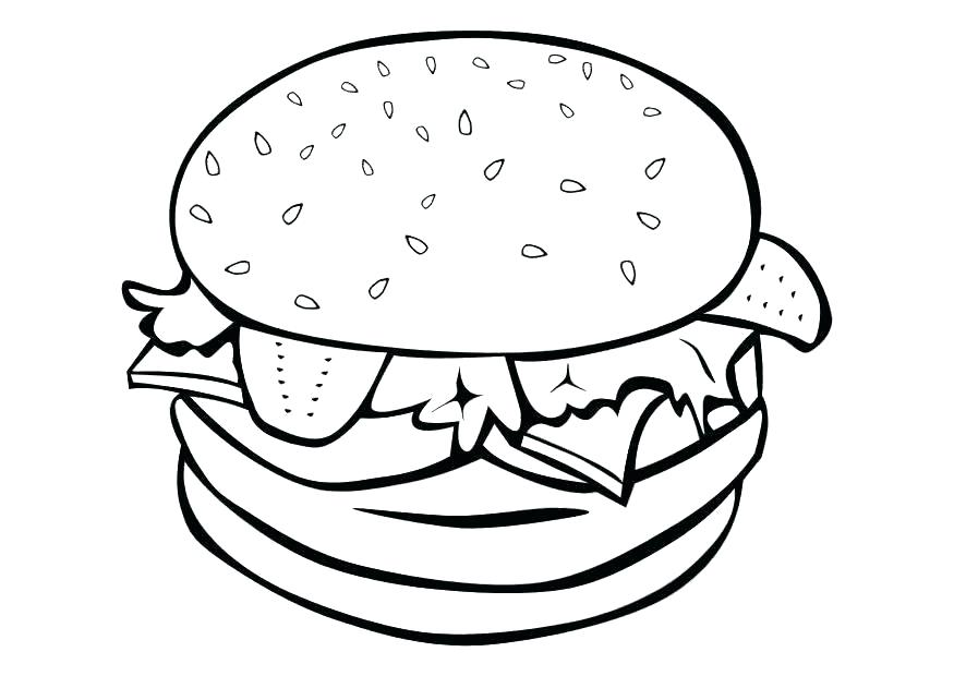 875x620 Unhealthy Food Coloring Pages Of Healthy Foods