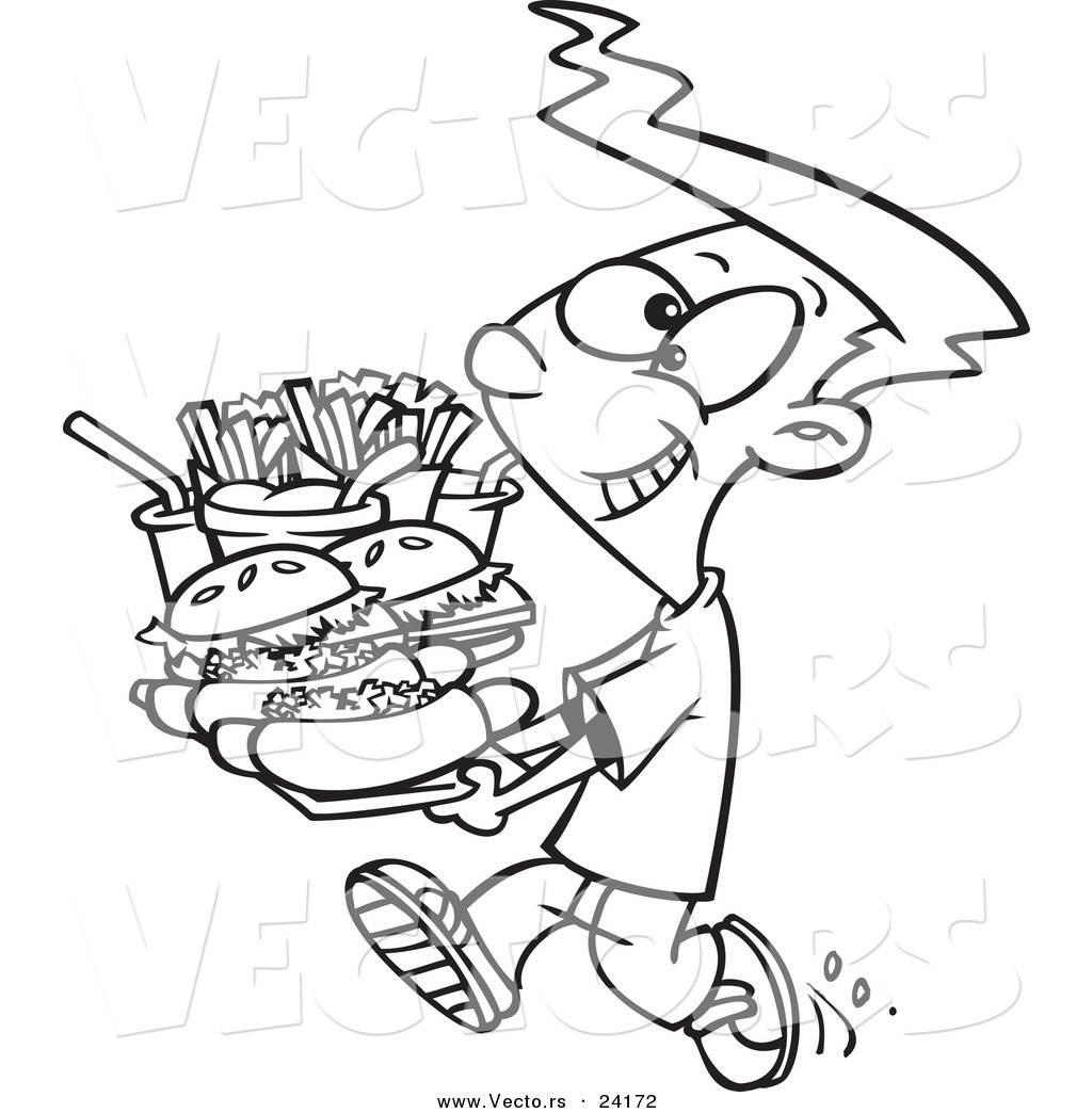 Junk Food Drawing at GetDrawings.com | Free for personal use Junk ...