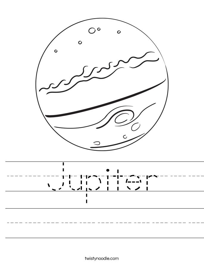 685x886 Jupiter Worksheet