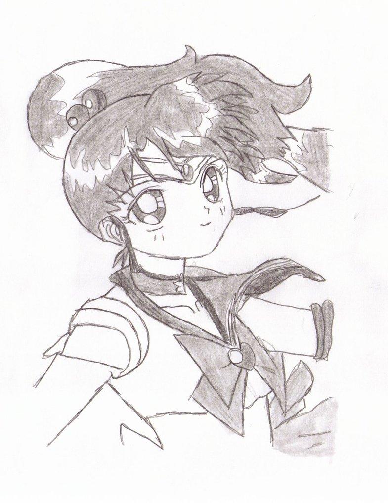 785x1017 Sailor Jupiter Drawing By Rookieandsangolove