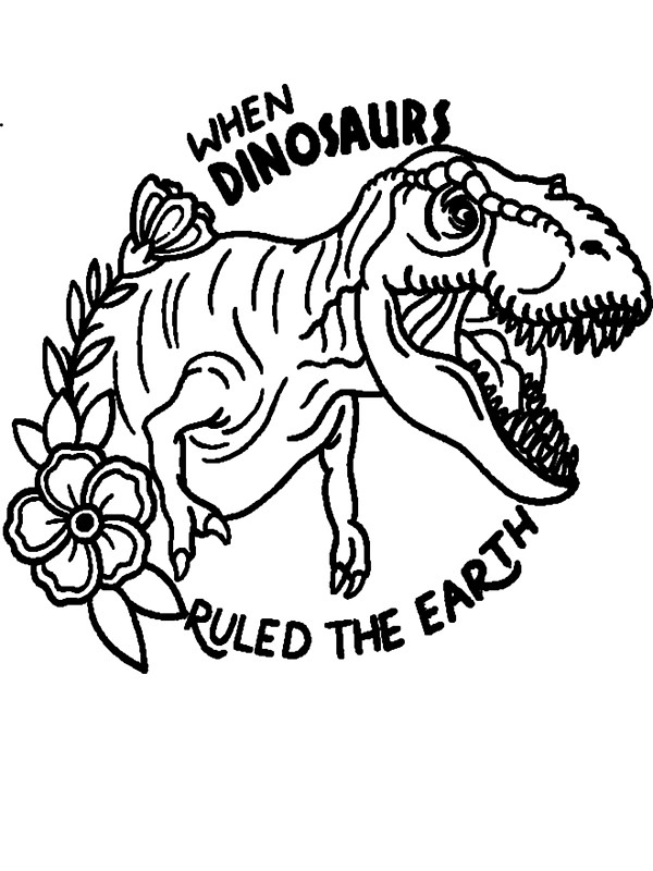 Großartig Jurassic Park Malvorlagen T Rex Galerie - Beispiel ...