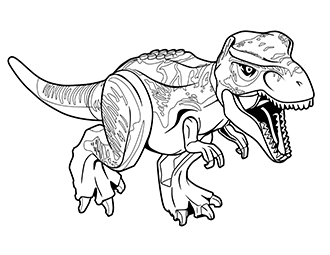 Jurassic Park T Rex Drawing at GetDrawings Free for