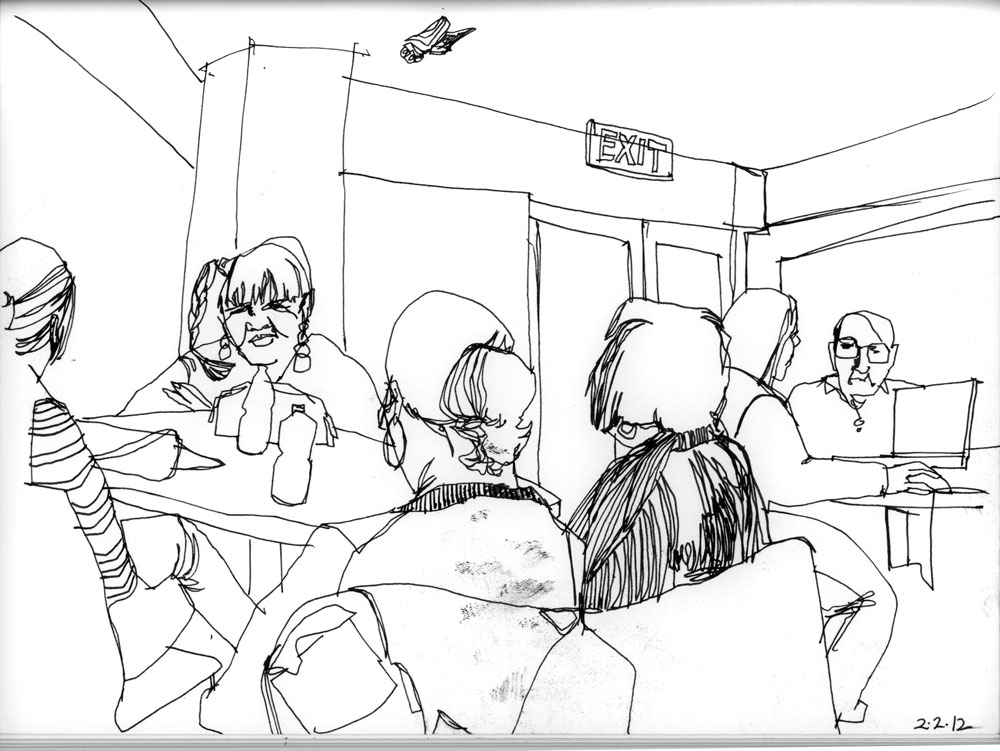 1000x751 Jury Duty Urban Sketchers
