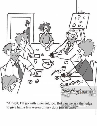 400x517 Jury Duty Cartoons, Jury Duty Cartoon, Funny, Jury Duty Picture