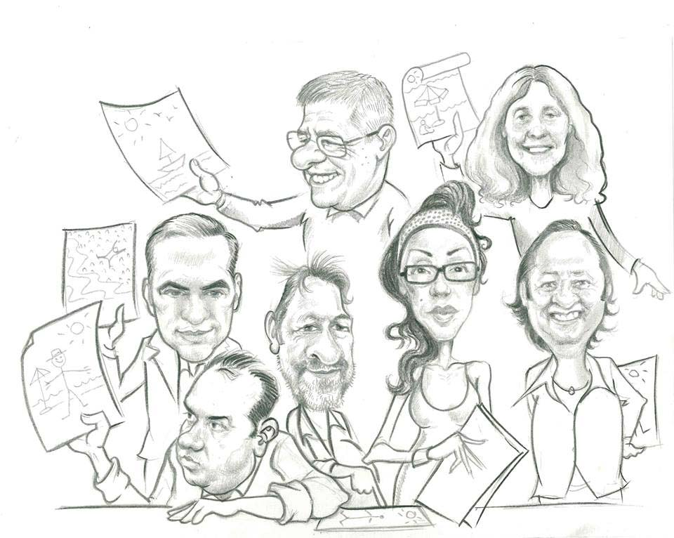 960x766 Jury Of The 6th International Tourism Cartoon Competitionturkey