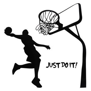 361x361 Sellify Generic Just Do It Basketball Wall Decal Diy Removable