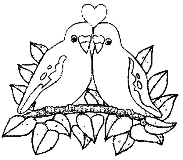 600x525 Just Married Coloring Page 31 And Wedding Colouring Pages