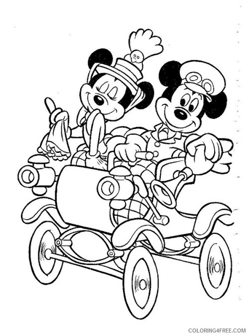500x675 Wedding Coloring Pages Just Married Car Coloring4free
