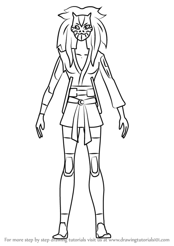 567x800 Learn How To Draw Cheshire From Young Justice (Young Justice) Step
