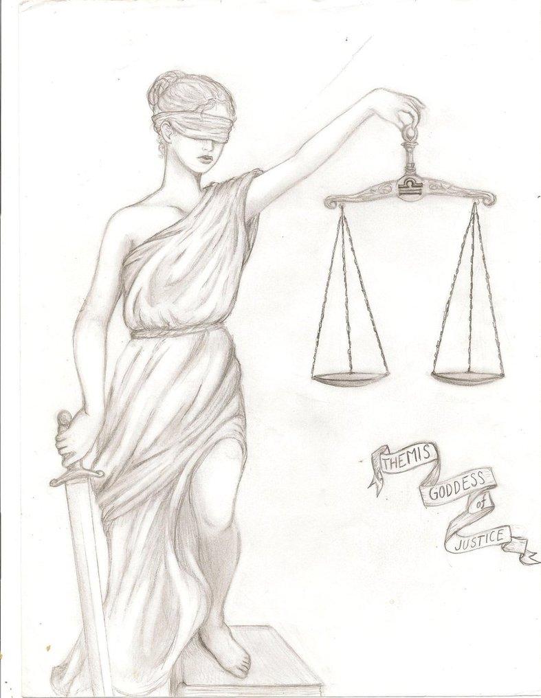 787x1016 Themis Goddess Of Justice By Seastarsapphire
