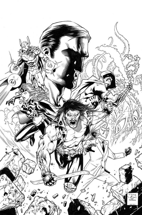 600x911 Tony S. Daniel And Mark Morales Replace Jason Fabok On Justice