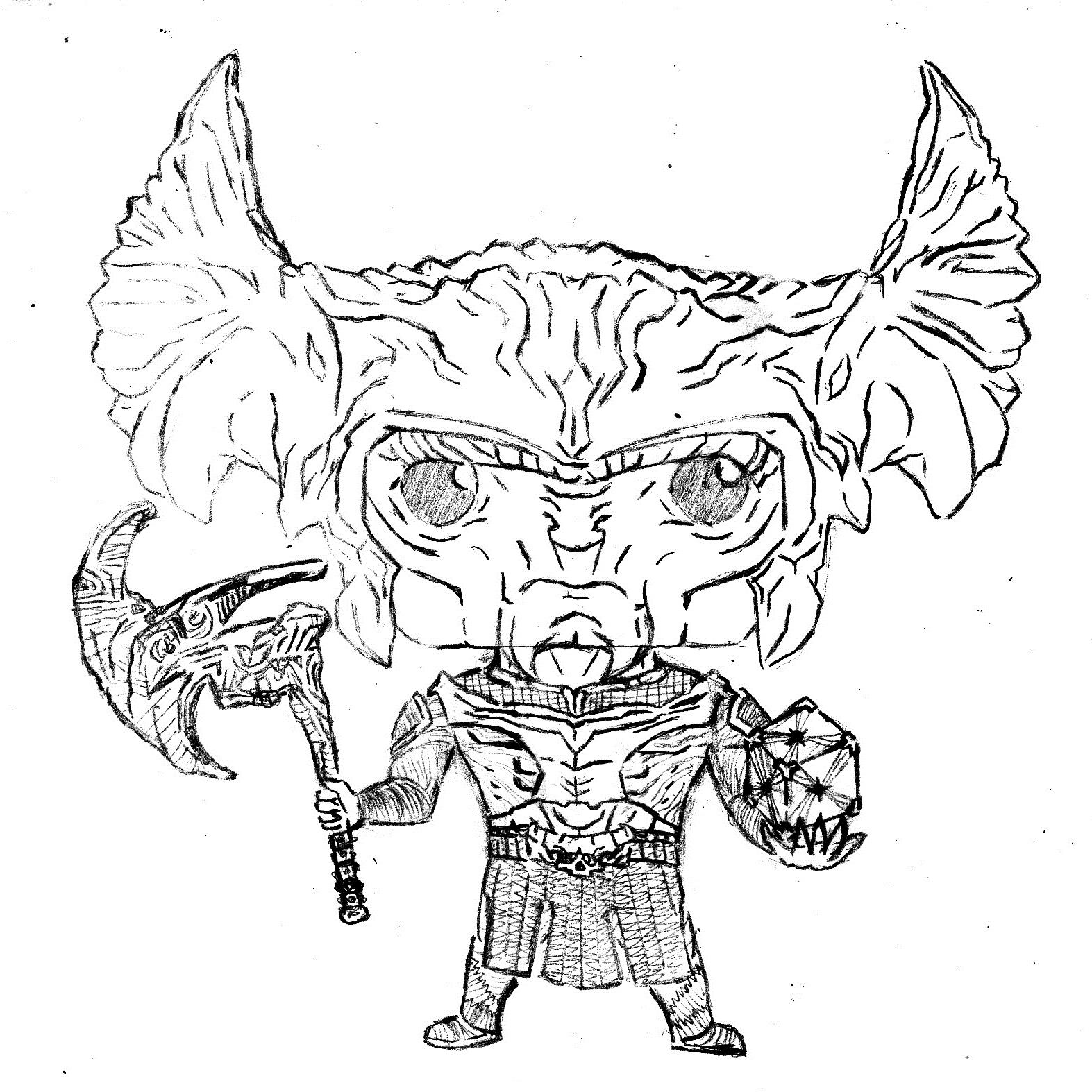 1573x1574 Custom] Ltsketchgt Steppenwolf (Justice League) {November 16th, 2017