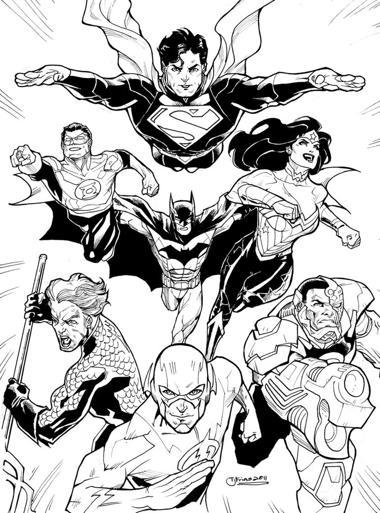 770x1038 Dcnu Justice League 2011 By Guinnessyde