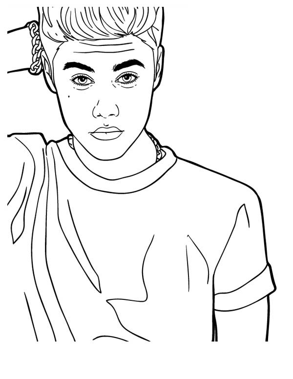 600x776 Inspirational Justin Bieber Coloring Pages 66 In Crayola Photo