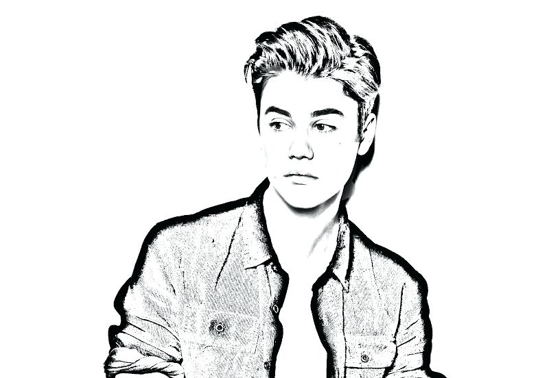800x552 Justin Bieber Coloring Page Coloring Pages Printable Pages Cartoon