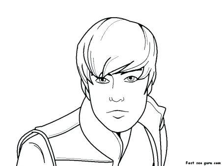 452x338 Justin Bieber Coloring Page Here Are Coloring Pages Images