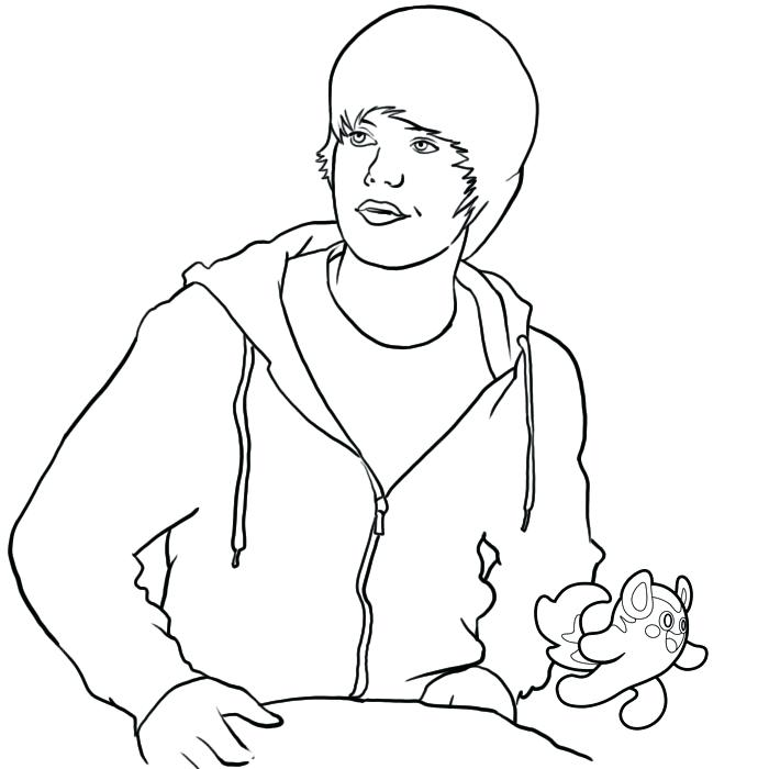 700x700 Luxury Justin Bieber Coloring Pages Image Of And Printable Cartoon