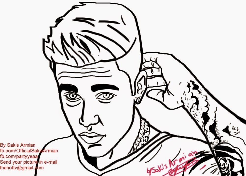 1002x716 Sakis Armian Official Blog Justin Bieber Digital Painting By
