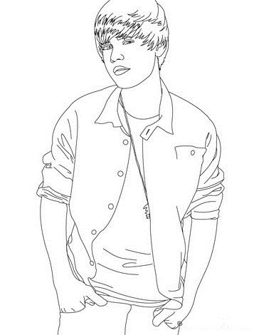 Justin Bieber Cartoon Drawing at GetDrawings.com | Free for personal ...