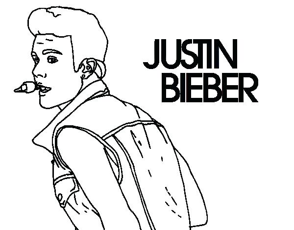 600x470 Justin Bieber Coloring Page Singing Coloring Page Justin Bieber