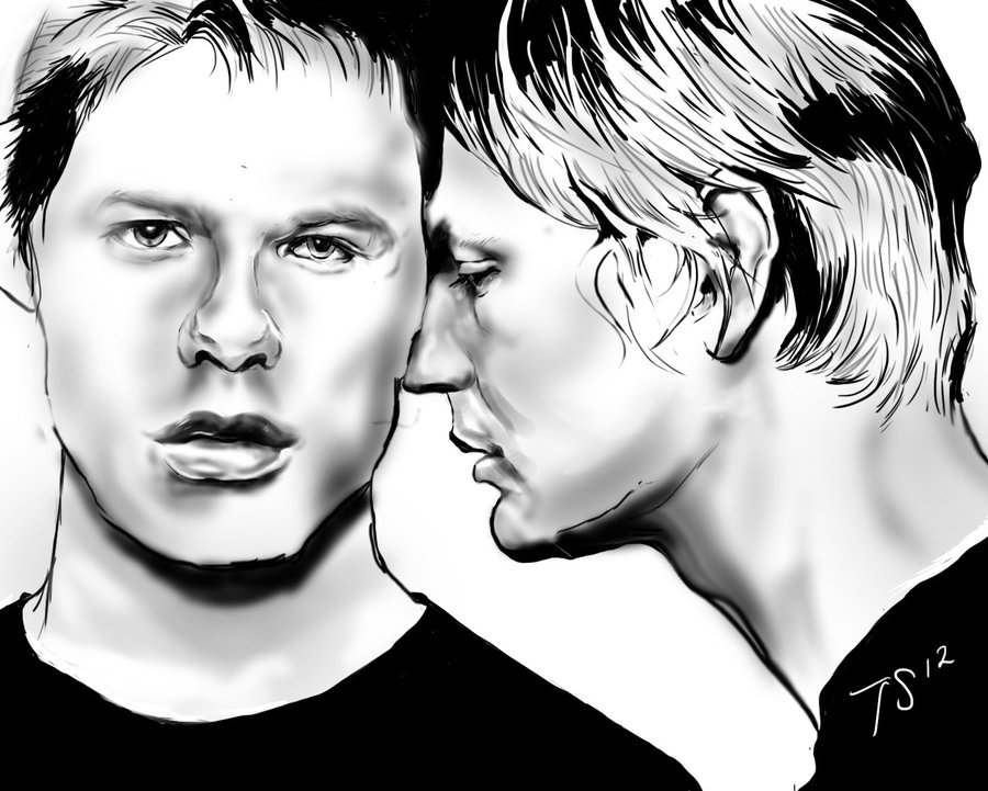 900x721 Brian And Justin Number 2 By Tesseres