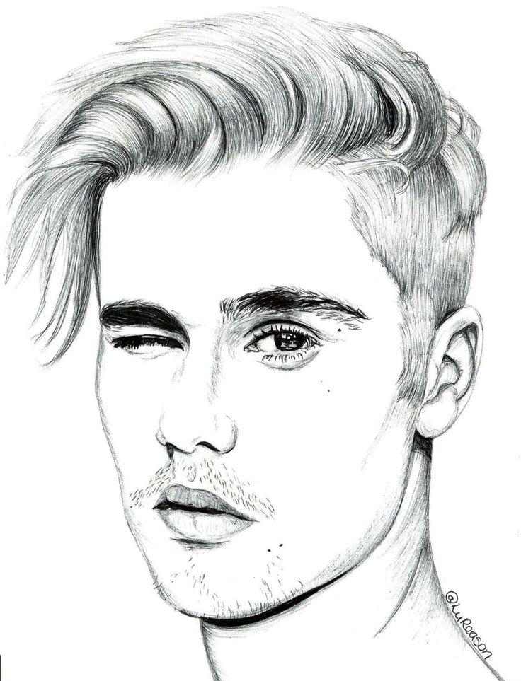 736x963 Drawn Amd Justin Bieber