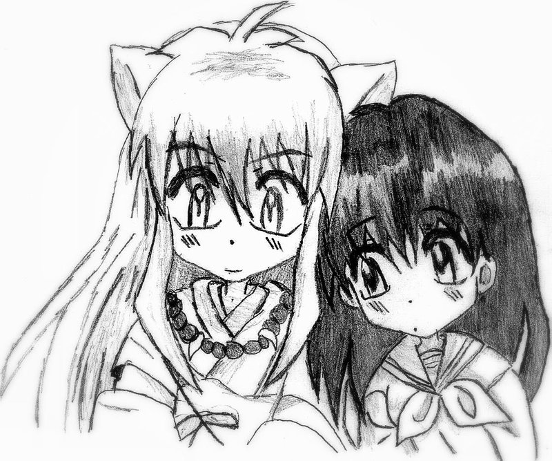 Generous Inuyasha And Kagome Coloring Pages Ideas - Examples ...