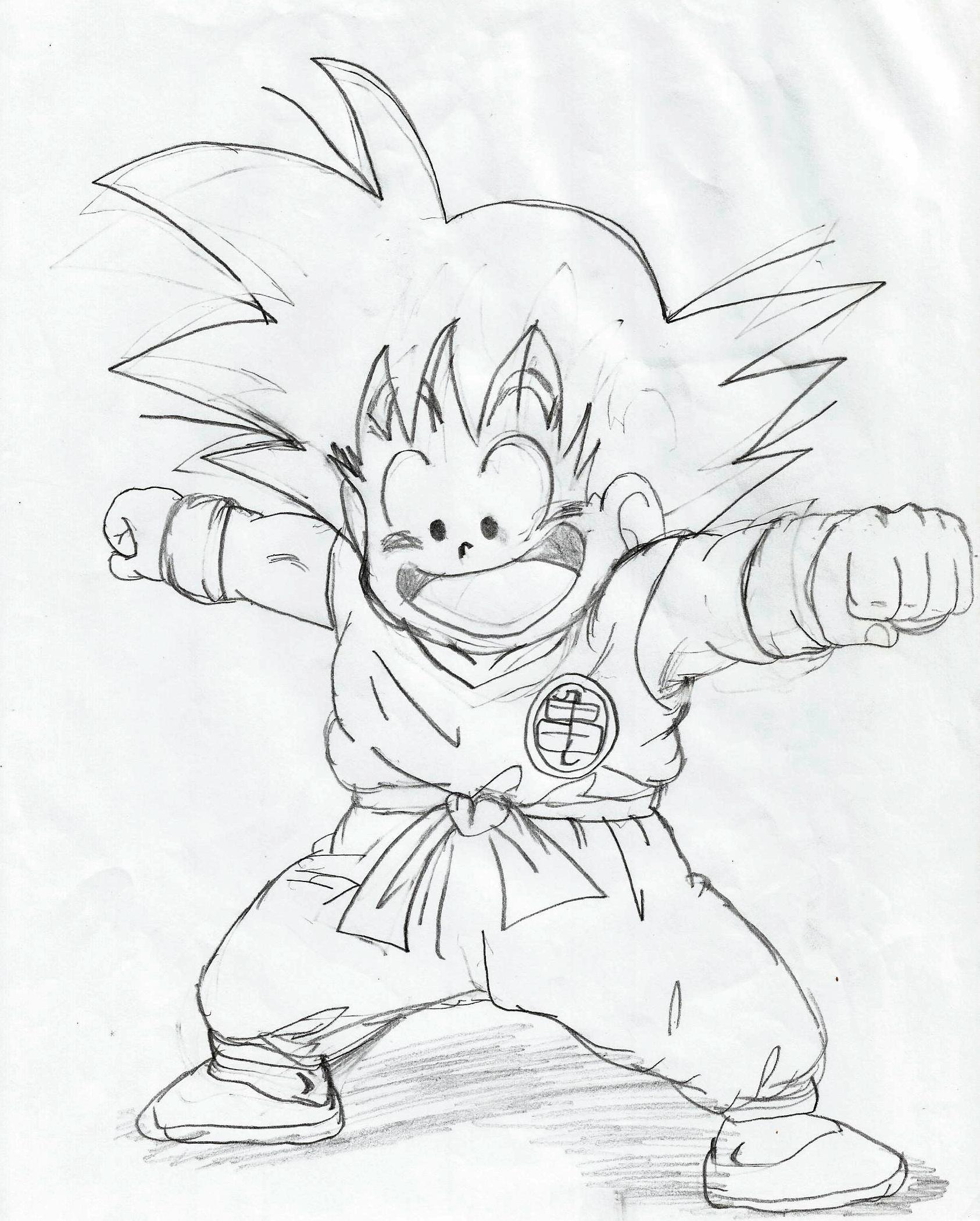 1686x2100 Dragon Ball Z Kai Drawing How To Draw A Dragon Ball Z Gohan