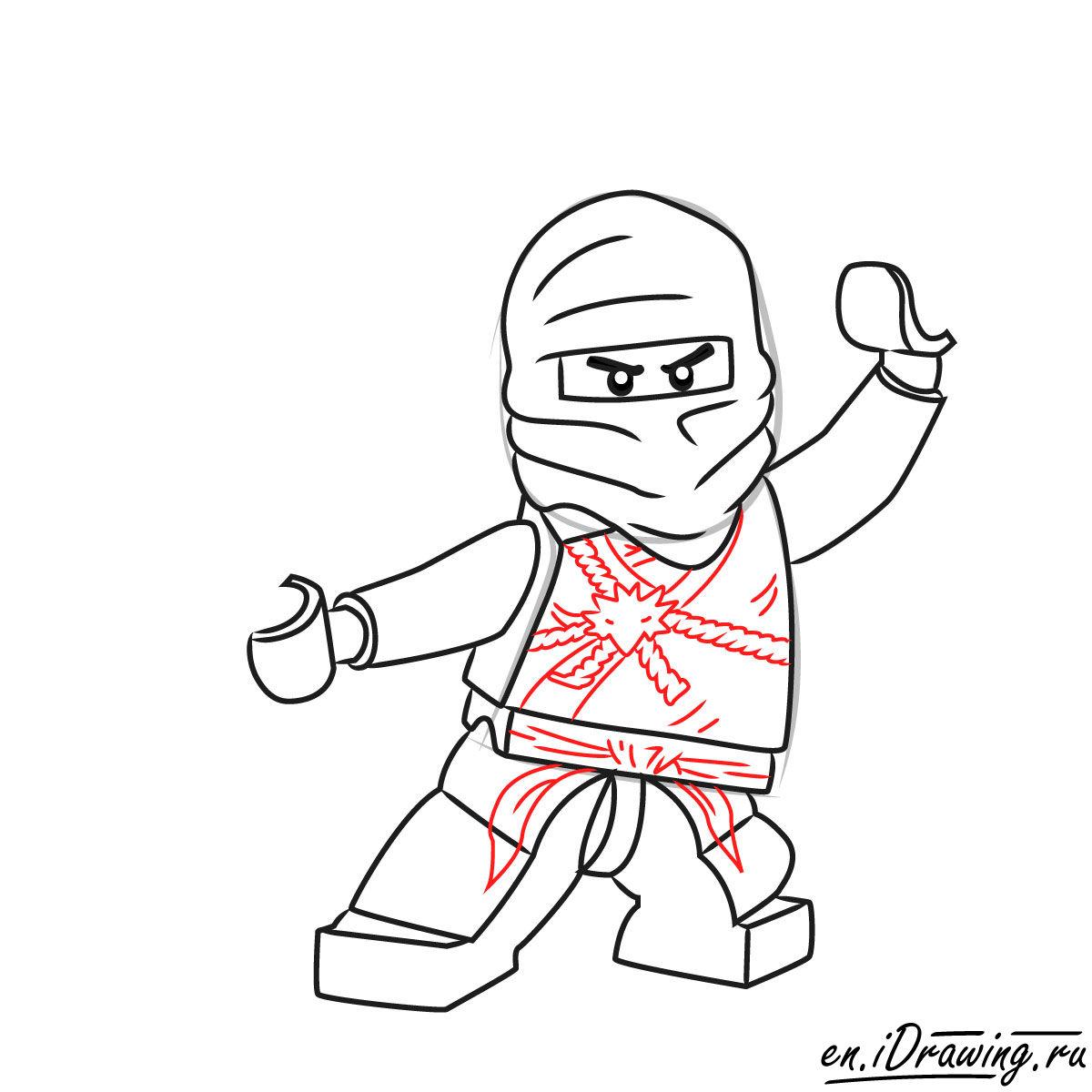 1200x1200 How To Draw Zane Ninjago