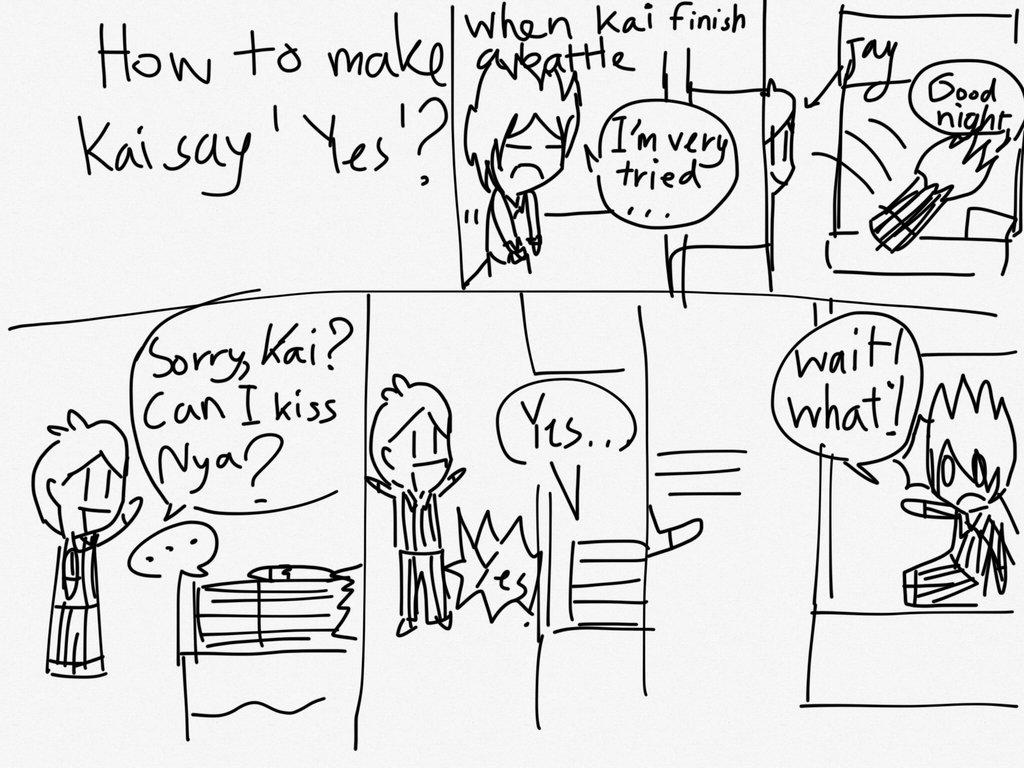 1024x768 How To Make Kai Say Yes By Khwan123 And Ninjago