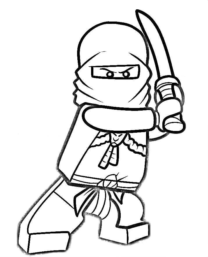 715x883 Kai Ninjago Coloring Pages