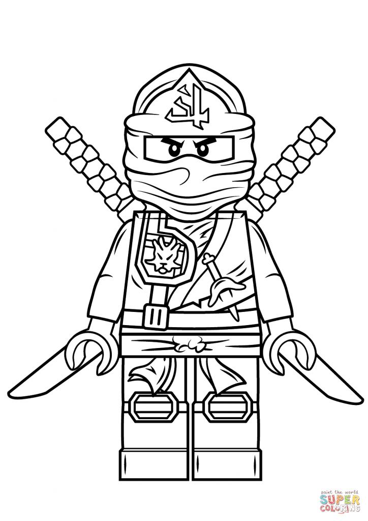 724x1024 Lego Ninjago Green Ninja Coloring Page Free Printable Coloring