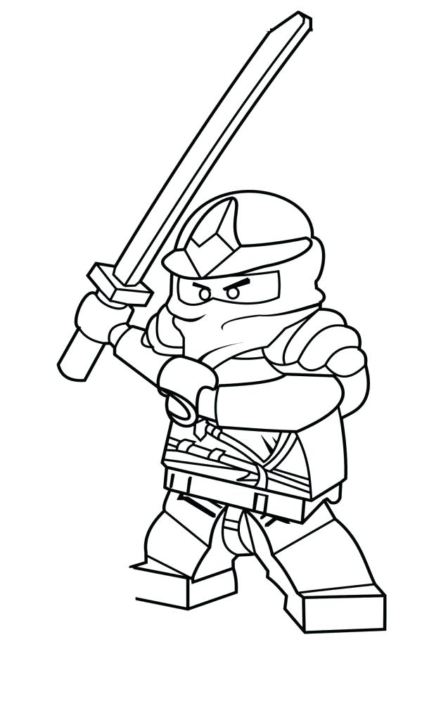 627x1024 Lego Ninjago Kai Coloring Pages Coloring Pages To Print Lego