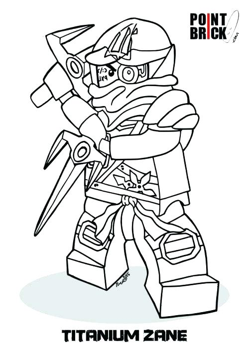 500x707 Lego Ninjago Kai Coloring Pages Lego Ninjago Coloring Pages Kai Zx