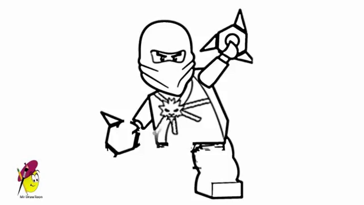 1280x720 Zane Ninjago How To Draw Zane Ninjago