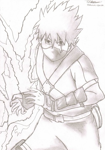 Kakashi Drawing
